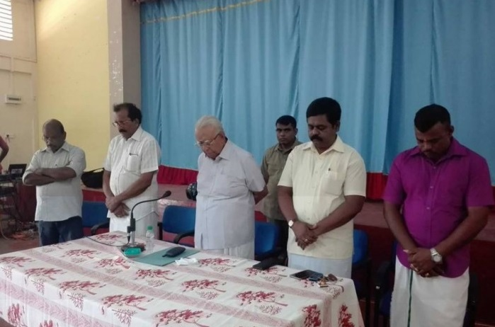 Pressuring the Government to deliver a solution to the problem of Missing persons, says Sampanthan to relatives in Kilinochchi