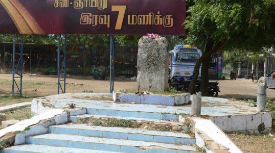 Thileepan statue Nallur