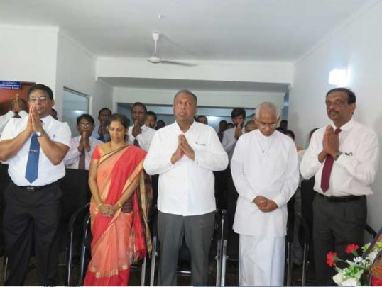 Tamil Language should be given precedence where Tamils live in majority, says State Minister Wijekala