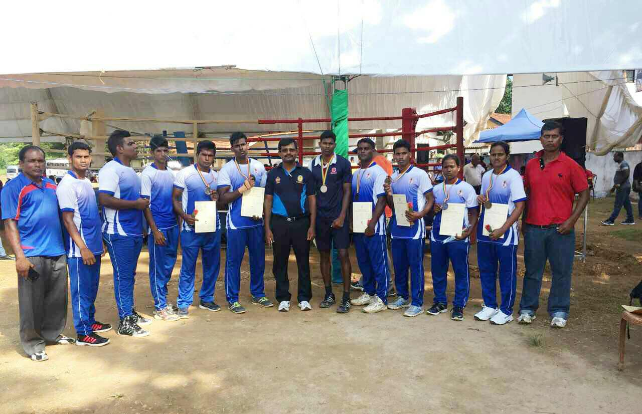 Seven Medals to Northern Province in Boxing at National Sports Festival