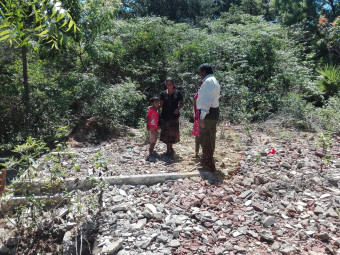 Lands given by LTTE at Kaively  to Maveerar Families and Militants in control of Forest Department