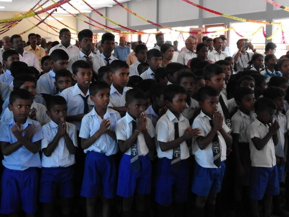 Commemoration students killed in aerial bombing by SL Air Force in Nagarkovil