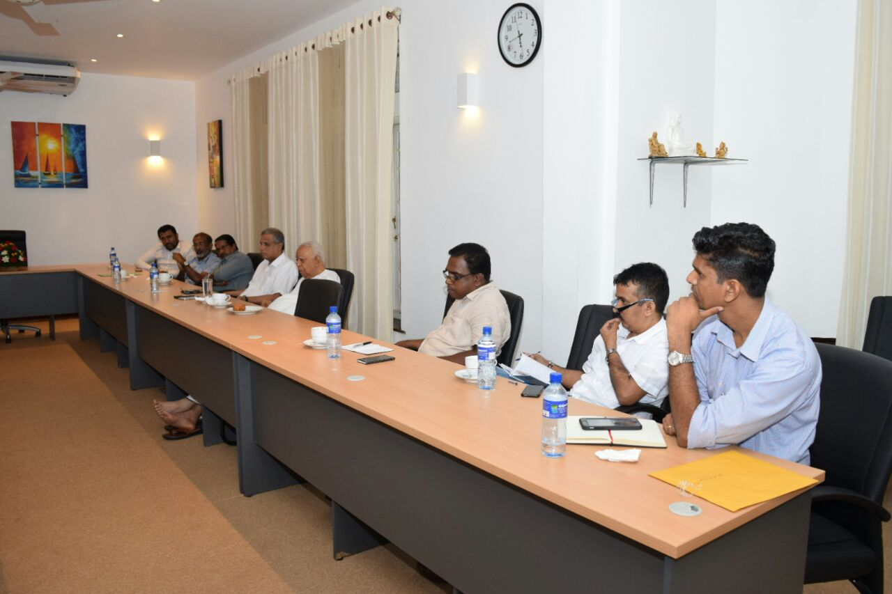 Sampanthan meets Tamil journalists (5)