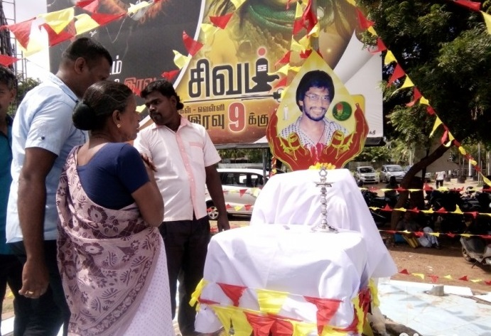 Commemoration week commence in the North for Thileepan