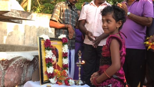 Commemoration of Thiyagi Thileepan held sentimentally with unprecedented number of people's participation, after 2009