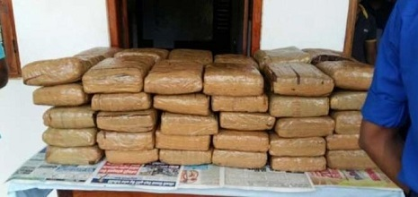 8kgs. Ganja captured from a house in Chulipuram Occupant arrested