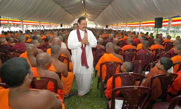 mahinda and monks