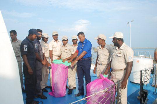 155 kilos of Kerala Ganja worth 20 Million recovered seas off Kankesanthurai