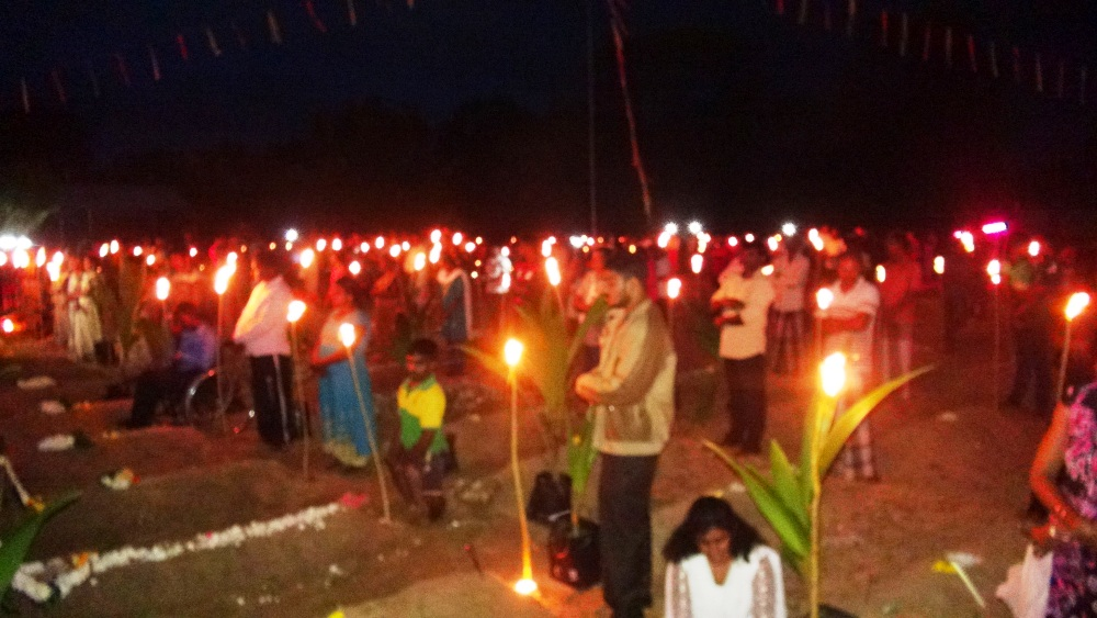 Grateful Tamil people throng Thuyillumillams in Unprecedented numbers despite military threats to remember their Maveerars