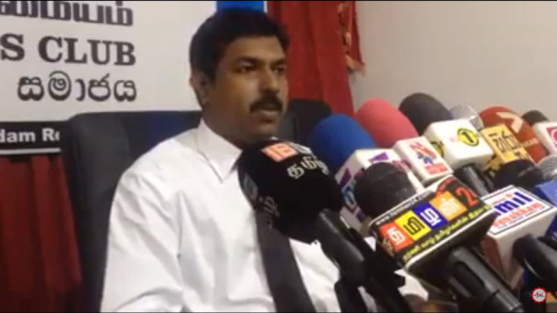 AAL Sugas accepts the challenge of Sumanthiran on the Interim Report on Constitution