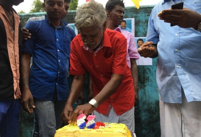 Tamil National Leader Prabaharan's Birth Day celebrated  yesterday