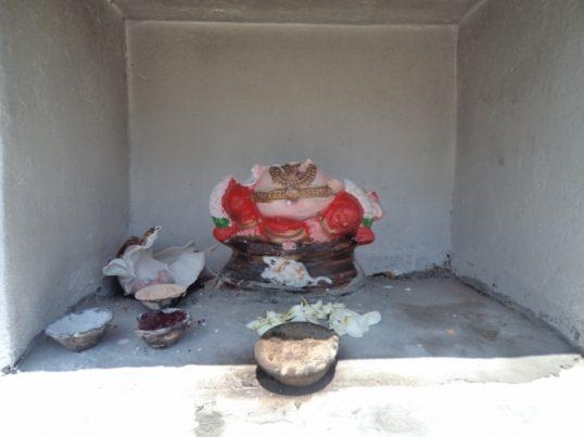 Desecrations of Pillaiyar temples continue in Mannar: 4th Pillaiyar statue broken up