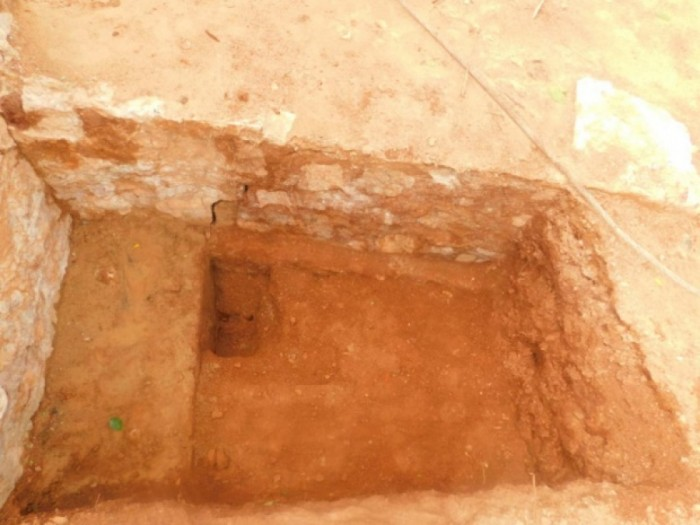 Underground palace discovered in Trincomalee says the Ministry of Education