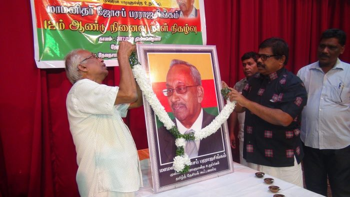 Joseph Pararajasingam remembered yesterday in Batticaloa