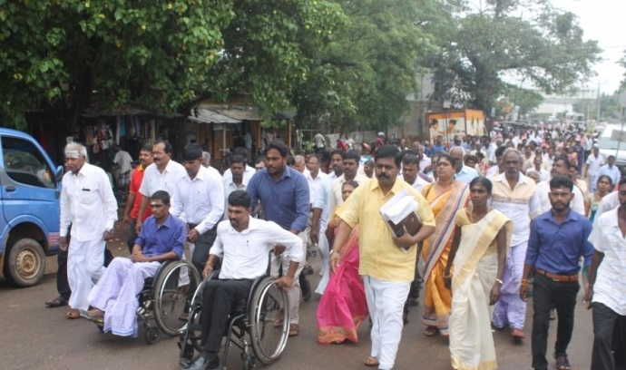 ITAK excludes other constituent parties in the Nomination list in Kilinochchi