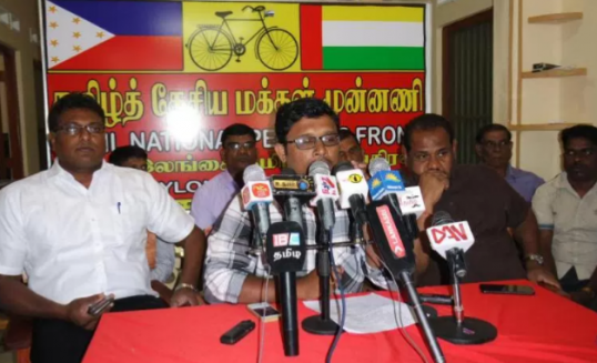 "Manivannan, TNC's chief contender for JMC in arena with ""Clean hands – Clean Town"" theme"