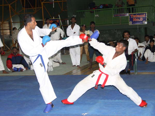 Mulaitheevu Civil Security Department  Karate team wins 2017 National Level Departmental Tournament