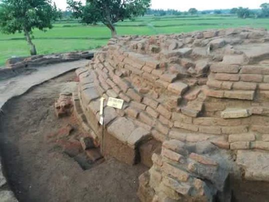 Archeological remains belonging to the Anuradhapura era recovered from Chenkalady in Baticaloa