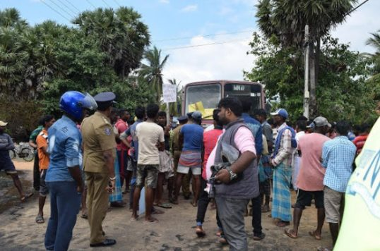 Tension due to arrest of fishermen in Mannar by the Navy