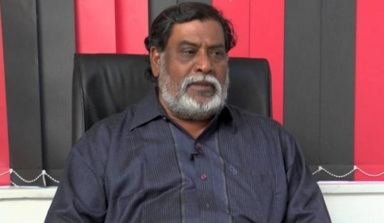 Varatharajaperumal as the TNA's CM candidate, a Sinhala media speculates
