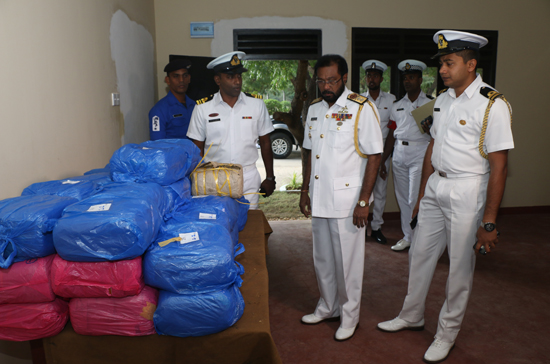 113 Kgs. Ganja worth 11.6 Million recovered from Vettilaikerny Beach 1