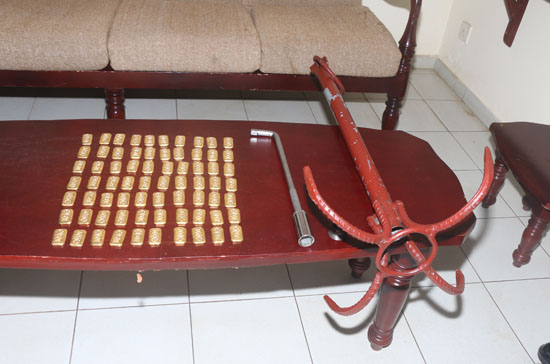 Golden Biscuits worth 70 Million captured in the seas off Kankesanthurai