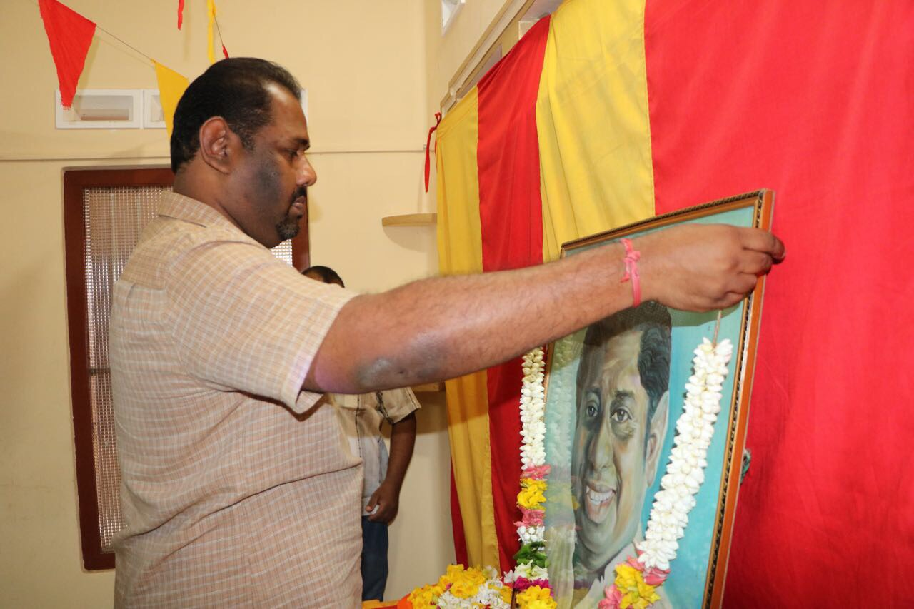 """Commemoration of  """"Mamanithar""""Kumar Ponnambalam held yesterday"""