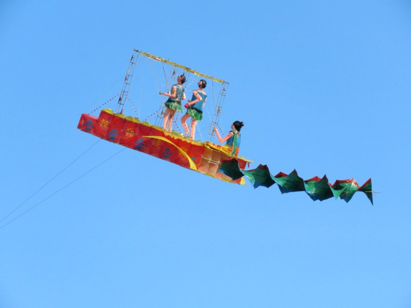 Attractive Kite Flying Competition in Valveddithurai
