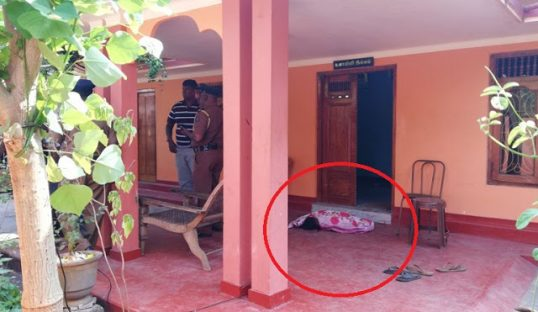 Paternal Uncle hacks 3 years old to death, then commit suicide- Horror in Jaffna