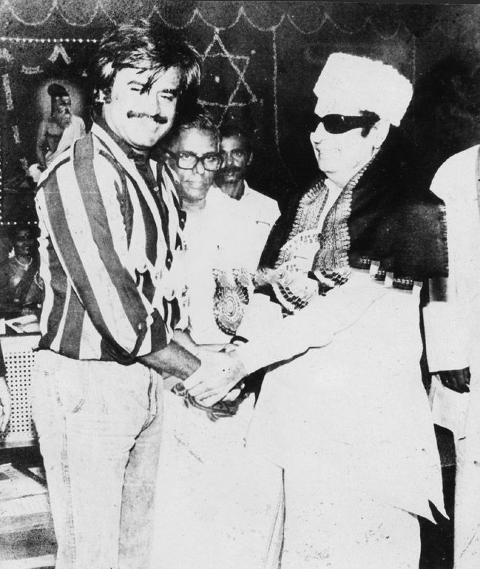 Rajini and MGR
