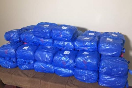 113 Kgs.  Ganja worth 11.6 Million recovered from Vettilaikerny Beach