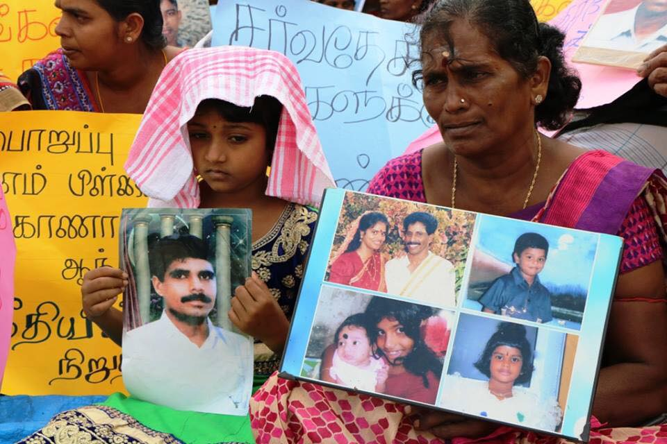 We don't want money, give us our children, relatives of missing say with tears flowing