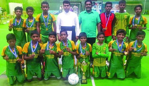 St. Patrick's crowned in the National level  Football series