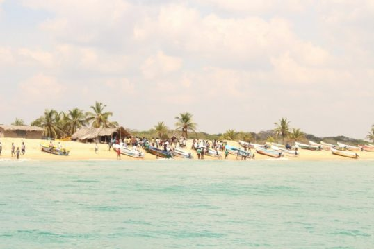 Marine resources of Mullaitheevu Fishermen are exploited by Southern Fishermen