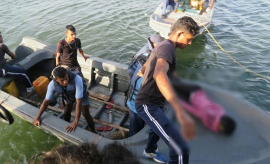 5 persons including 4 boys drowned while plucking lotus flowers in a muddy pond