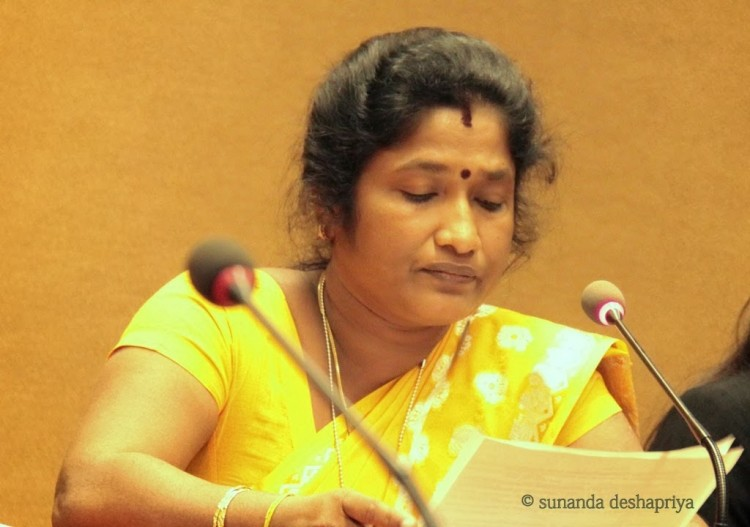 A dawn should be brought in the life of women carrying war traumas: says Ananthy Saseetharan