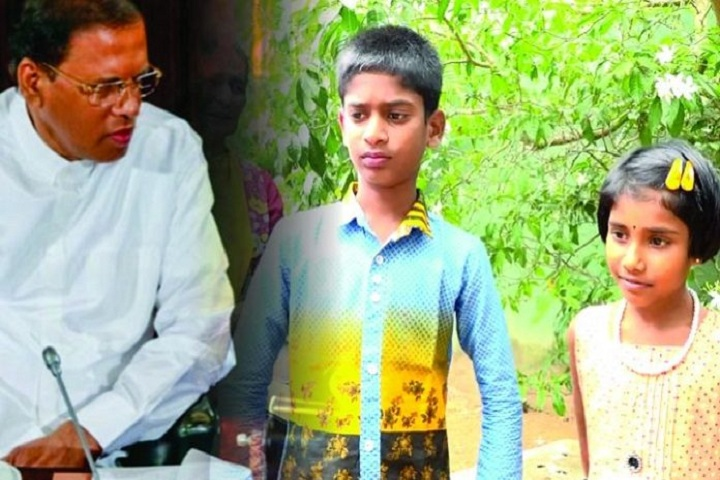 Promise of Maithri turns into a lie: Suthaharan's children cheated