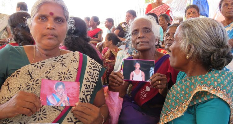 Relatives of missing  fight on, on the 2nd New Year after starting struggle under Hardships and threats