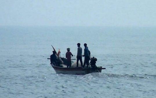 3 Fishermen missing at sea