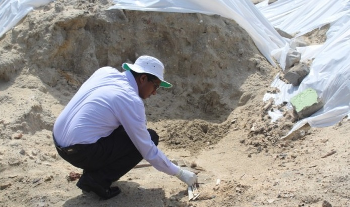 Human bones continue to surface in the Mannar Sathosa premises: Detected yesterday also!