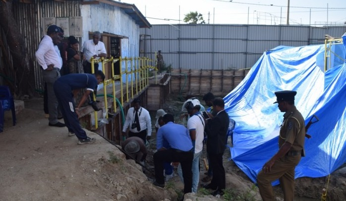 Human bones continue to surface in the Mannar Sathosa premises