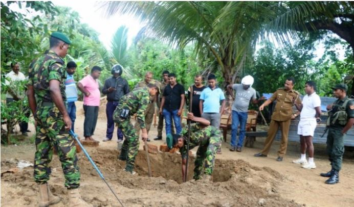 40 boxes of T56 Ammunition recovered from Kilinochchi Murasumodai