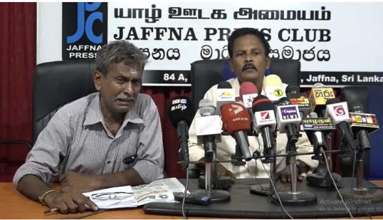 Three  Senior Members of the LTTE plead: Let us cry at Muliwaikkal in peace