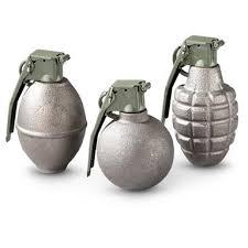 3 Hand-grenade recovered during a shramadhana at Kopay Centre