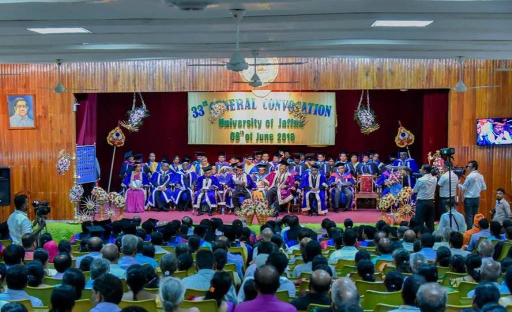 33rd Convocation of University of Jaffna. 1,706 receive their degrees: 31 Engineers pass out for the first time