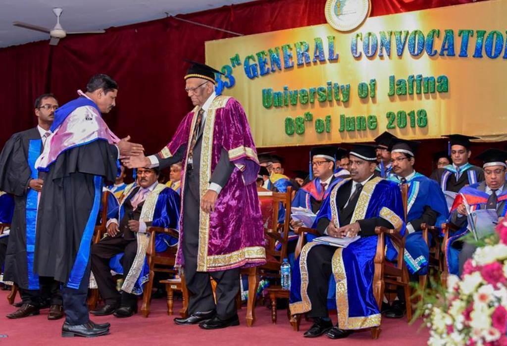 33rd Convocation of University of Jaffna.