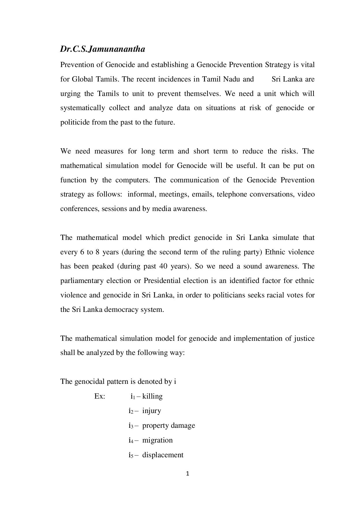 Dr. Jamuma Genocide Prevention Strategy for Tamil-page-001