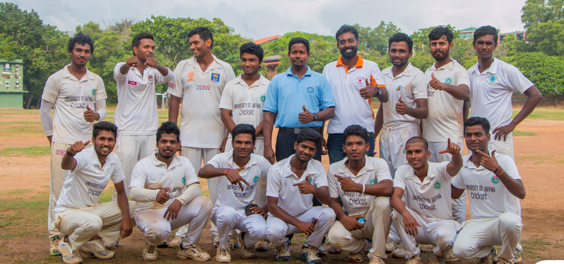 University of Jaffna enters Quarter Finals beating Moratuwa University