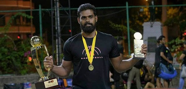 A place again for Vageesan in the National Basket Ball team