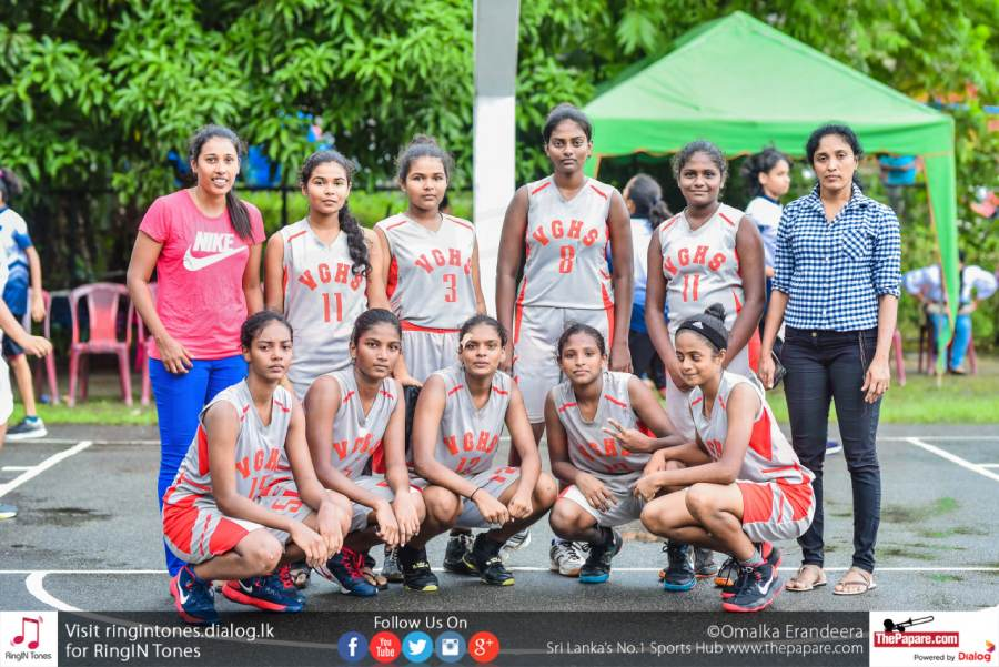 Vembadi Girls National Champions in Basket Ball